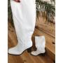Белые сапоги на каблуках Италия