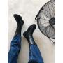 Черные высокие ботинки челси Италия