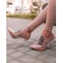 Прозрачные силиконовые туфли лодочки Италия