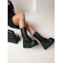 Высокие грубые ботинки на шнурках Италия