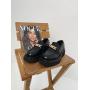 Черные туфли на платформе Италия