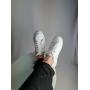 Белые кеды из натуральной кожи