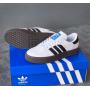Белые кеды Adidas Samba Rose White