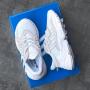Белые кроссовки Adidas Ozweego White Brown