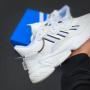 Белые кроссовки Adidas Ozweego White
