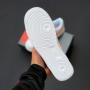 Белые кроссовки Nike Air Force 1 Pink Mint