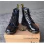 Черные кожаные ботинки Dr. Martens 1460 Black