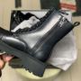 Зимние кожаные ботинки Balenciaga