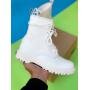 Белые кожаные ботинки Dr. Martens Sinclair