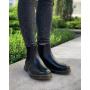 Черные кожаные ботинки челси Dr. Martens Chelsea