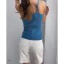 Белые джинсовые шорты бермуды