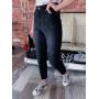 Черные джинсы mom высокой посадки