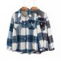 Теплая рубашка в клетку Ria VIVESTA