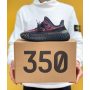 Черные кроссовки Adidas Yeezy Boost 350