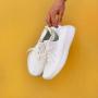 Белые кроссовки Adidas Yeezy Boost 350 V2