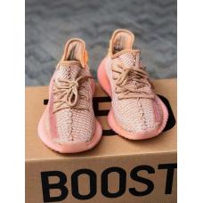 Розовые кроссовки Adidas Yeezy Boost 350 V2 Clay