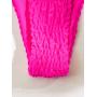 Неоновый розовый купальник жатка