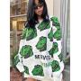 Объемный свитер с динозаврами Design by Korea