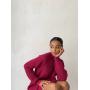 Вязаное платье свитер прямого кроя