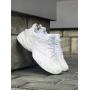 Белые кроссовки Nike M2K Tekno All White
