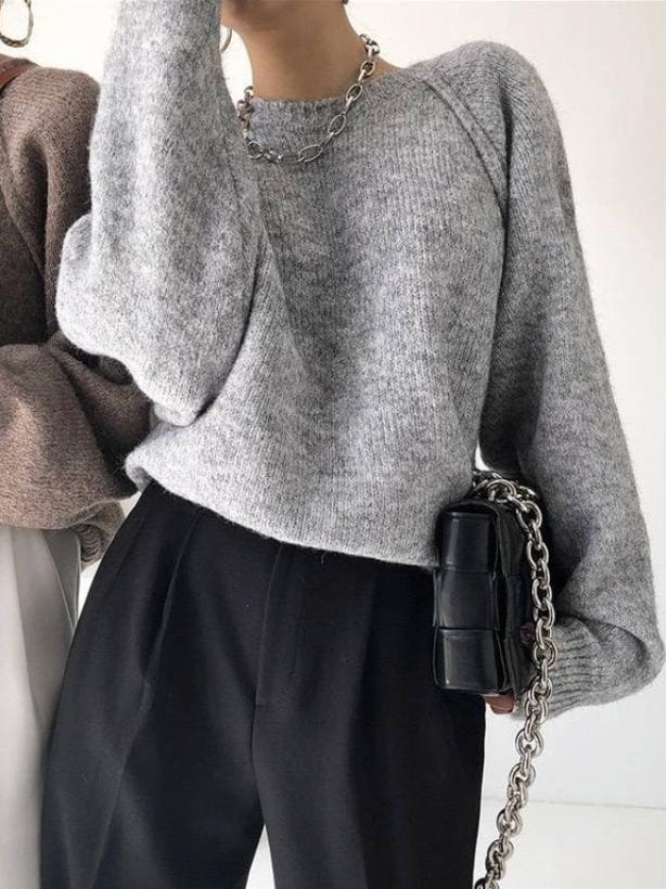 Базовый свитер