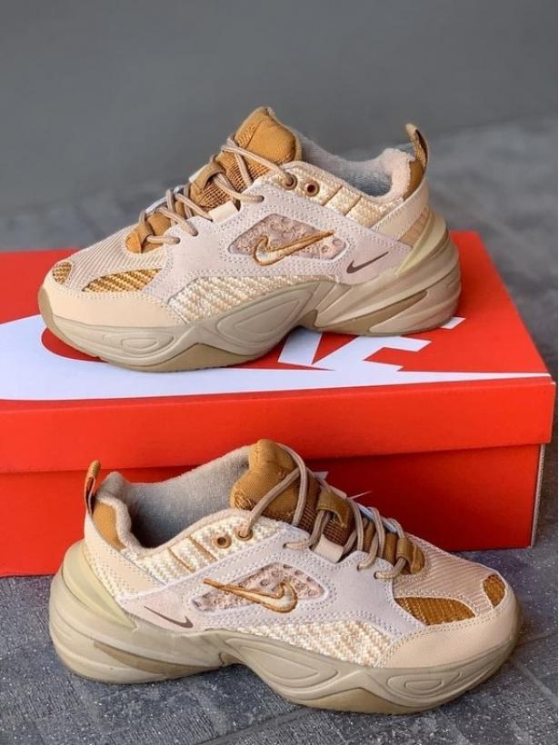 Коричневые кроссовки Nike M2K Tekno Brown