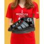Черные босоножки на платформе Dr. Martens Clarissa 2
