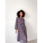 Цветочное платье миди из шифона