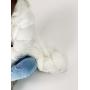 Белый пуховик миди с натуральным наполнителем TM ZEFFIR