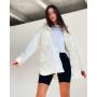 Стеганая молочная куртка рубашка TM ZEFFIR
