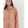Пудровая стеганая куртка рубашка TM ZEFFIR