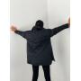 Стеганая черная куртка рубашка TM ZEFFIR