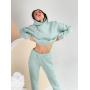 Мятный теплый спортивный костюм TM ZEFFIR