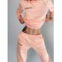 Розовый спортивный костюм с вышивкой TM ZEFFIR