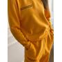 Желтый спортивный костюм с вышивкой TM ZEFFIR